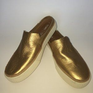TOMS Sunrise Mule Slip On Sneakers/Shoes  Sz.7